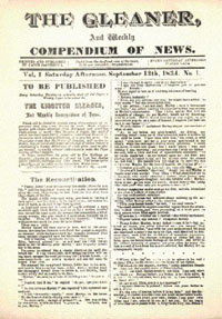 Jamaica Gleaner : Pieces of the Past:: Printing in Jamaica